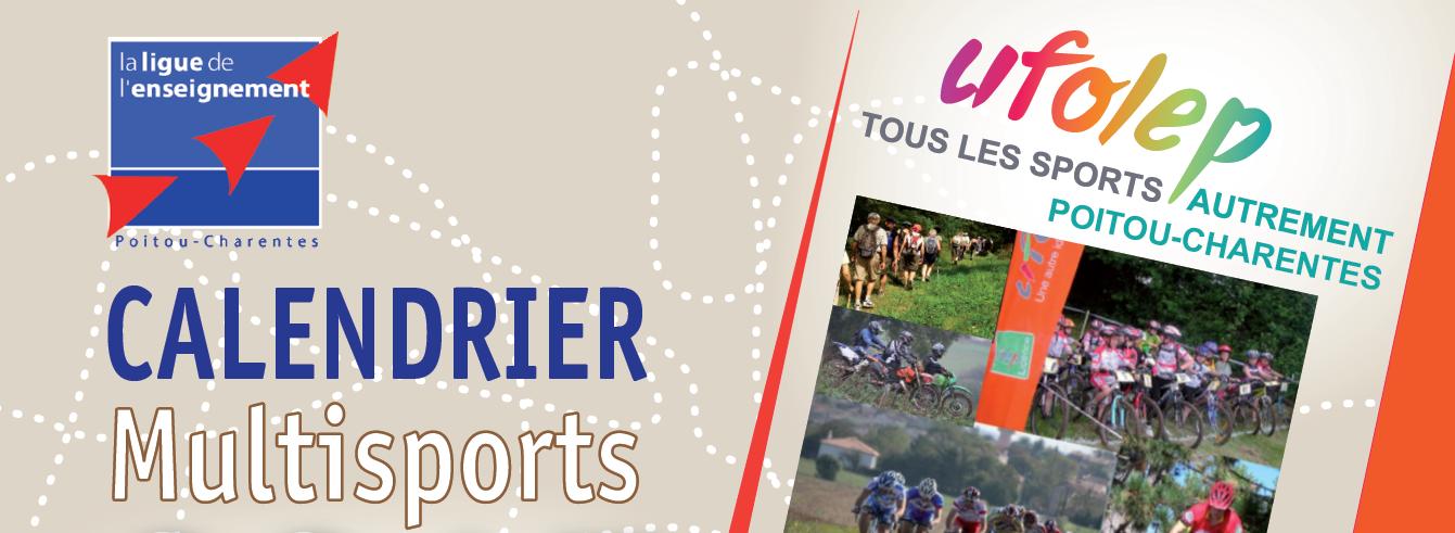 Cyclosportive Calendrier.Calendrier Sportif Poitou Charente La Ligue De L
